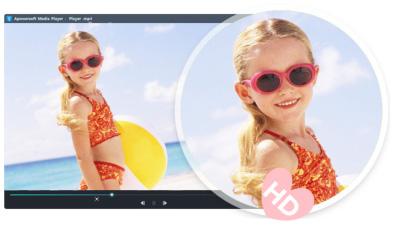 4K規格を含め、HD動画の変換にも対応